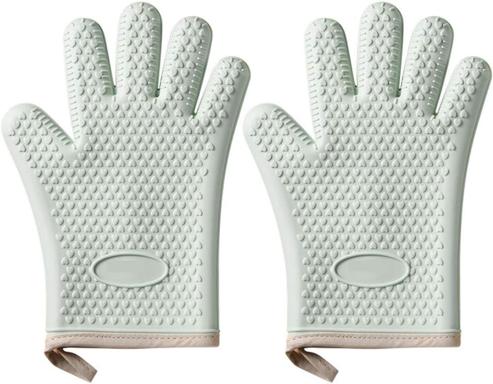CZXKJ Oven Mitts Anti-scalding Insulatio Gloves Kitchen Price reduction Silicone Washington Mall