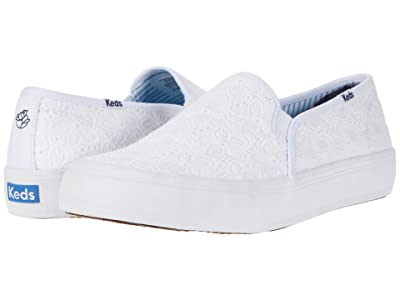 Keds DRAPER JAMES Double Decker DJ Eyelet (White) Women