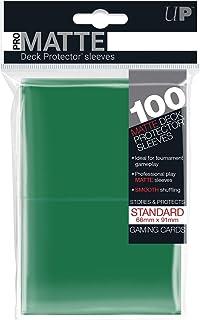 Ultra Pro Standard Deck Protectors - Pro-Matte Green (100 ct)