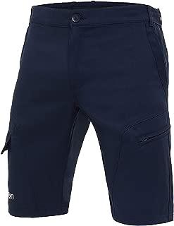 M Pantalone Tuta Da Ginnastica Uomo con Fondo Stretto Caviglia e Tasche con Zip Macron Horus Pant Nero//Bianco Colore Taglia