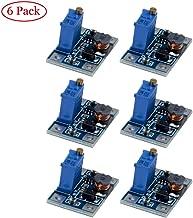 TeOhk 6 PCS SX1308 DC-DC Voltage Adjustable Boost Converter Regulator Supply Module 24V to 2-28V