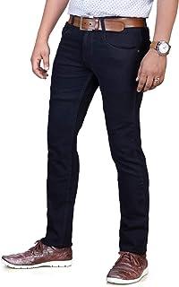 0-Degree Jeans Pants Stretch Denim for Men Denim Black 36 (0DJEMay16ThunDenimBlack36)