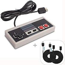 WADEO Manette pour Nintendo NES Classic Mini, Manette NES Classic Mini Edition de jeu NES avec 2 cordons de rallonge 3M / ...