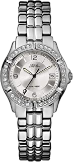 Guess Women's Silver Dial Stainless Steel band Watch-G75511M