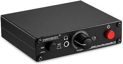 Nobsound T12 Phono Preamp ; Turntable Preamplifier ; Headphone Amplifier ; MM & MC ; RIAA