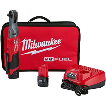 Cordless Ratchet Milwaukee 2557-20 12-Volt 3//8-Inch 55-Ft-Lbs Bare Tool