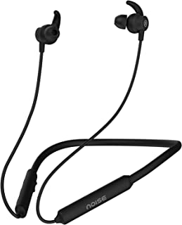 Noise Tune Active Bluetooth Wireless Headset with Upto 10 Hour Playtime, IPX5 Water Resistant, 10mm Dynamic Drivers for Great Wireless Sound (Stealth Black)