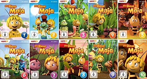 Die Biene Maja, Vol. 1-10 (4 DVDs)