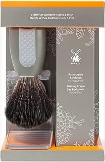 Muhle Wet Shaving Starter Set, Sea Buckthorn