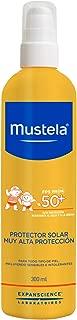 Mustela Fluido Protector Solar Corporal, Alta Protección para Todo Tipo de Piel, 300 ml