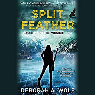 Split Feather audiobook cover art