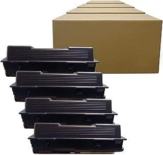 Inktoneram Compatible Toner Cartridges Replacement for Kyocera-Mita TK-172 TK172 FS-1320D FS-1370DN P2135d P2135dn (Black, 4-Pack)