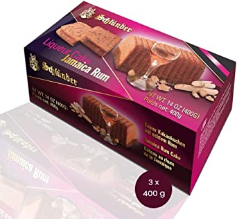 Schlünder Jamaica Cocoa Rum Cake – Tarta fina de cacao con ...