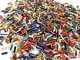3300 unidades de cuentas de cristal de 6 mm, cuentas de cristal, tubos, varillas, Roccailles, cuentas de semilla (color mezclado)