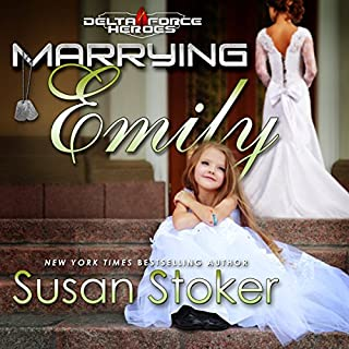 Marrying Emily     Delta Force Heroes, Book 4              Auteur(s):                                                                                                                                 Susan Stoker                               Narrateur(s):                                                                                                                                 Stella Bloom                      Durée: 2 h et 51 min     1 évaluation     Au global 5,0