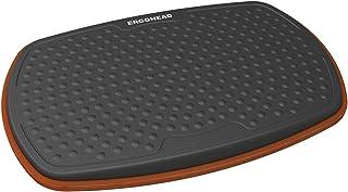 Ergohead Standing Desk Anti Fatigue Mat Balance Board, 360° Rotation Exercise Wooden Wobble Board Stability Rocker Perfect...