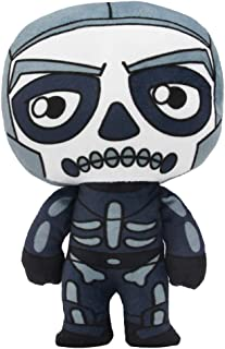 Mazeshop Battle Royale Game Halloween Skins Skull Trooper Plush Figure Stuffed Doll 8 inch