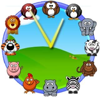 Cute Animal Clock