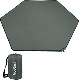 Hoybell Playpen Mattress, Compatible with Summer Pop 'N Play Playard, Self Inflatable Comfortable with Carry Case - Dark Grey