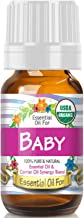 Essential Oil for Baby (USDA Organic – 100% Pure) Unique Blend of Essential Oils..