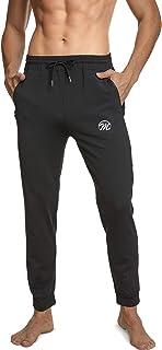 MEETWEE Pantalon de Jogging Homme, Sweatpants Slim Fit Pantalons de Sport Casual Survêtement pour Running Gym Training