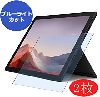 """【2 Pack】 Synvy Anti Blue Light Screen Protector for Microsoft Surface Pro 7 12.3"""" Screen Film Protective Protectors [Not Tempered Glass]"""