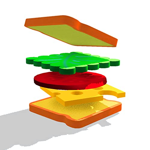 Perfect Sandwich Folding Master - Deliciously Puzzle Game