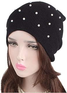 Women Ladies Winter Knitting Hat Warm Hat Cap Pile Cap Ski Cap