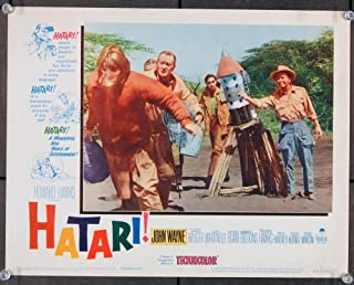 Hatari! (1962) Original Scene Lobby Card 11x14 JOHN WAYNE Fine to Fine Plus Condition