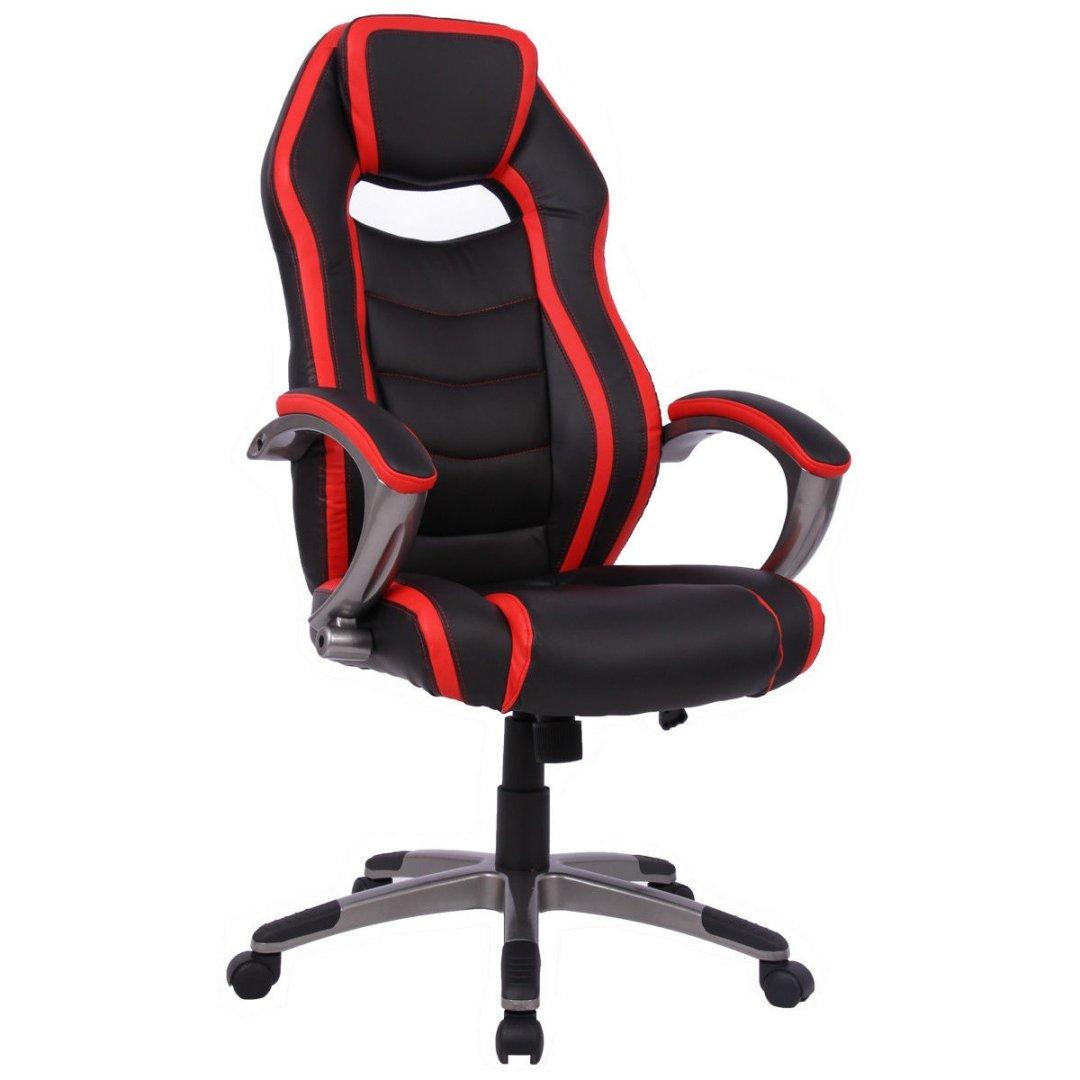 モダンRacingスタイルハイバックGaming椅子快適なバケットシート革張り回転デスクタスク調整可能高さPU Heavilyパッド入り姿勢サポートホームオフィス家具# 1771rd