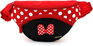 Disney Minnie Mouse Ribbon Red HipSack Waist Pack Fanny Phone Wallet