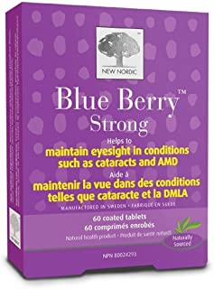 New Nordic - Blue Berry Eyebright, 60 tablets