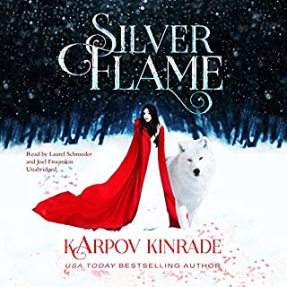 Silver Flame audiobook cover art
