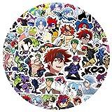 CMTTOME Aufkleber für Anime SK8 The Infinity, Cartoon-Graffiti-Aufkleber für Kühlschrank, Computer, Fahrrad, Skateboard, Gepäck, Helm (50 Stück (1 Set))