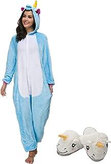 b1492d7c4c Cosplay Pigiama Animali Unisex Costume Party Halloween Tuta Costumi  Flanella Sleepwear S M L XL