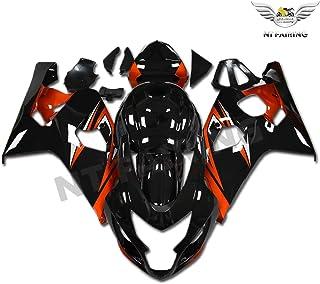 New Orange Black Fairing Fit for SUZUKI 2004 2005 GSXR 600 750 Injection Mold ABS Plastics Bodywork Bodyframe 04 05