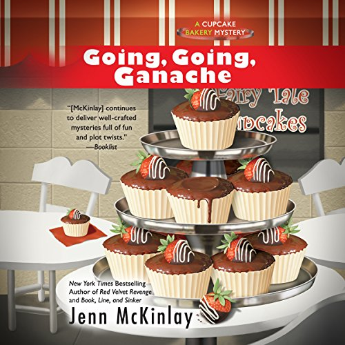Going, Going, Ganache                   By:                                                                                                                                 Jenn McKinlay                               Narrated by:                                                                                                                                 Susan Boyce                      Length: 7 hrs and 24 mins     143 ratings     Overall 4.6