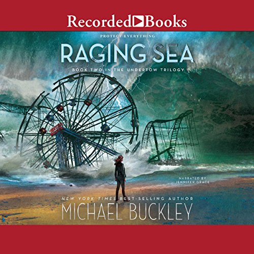 Raging Sea audiobook cover art