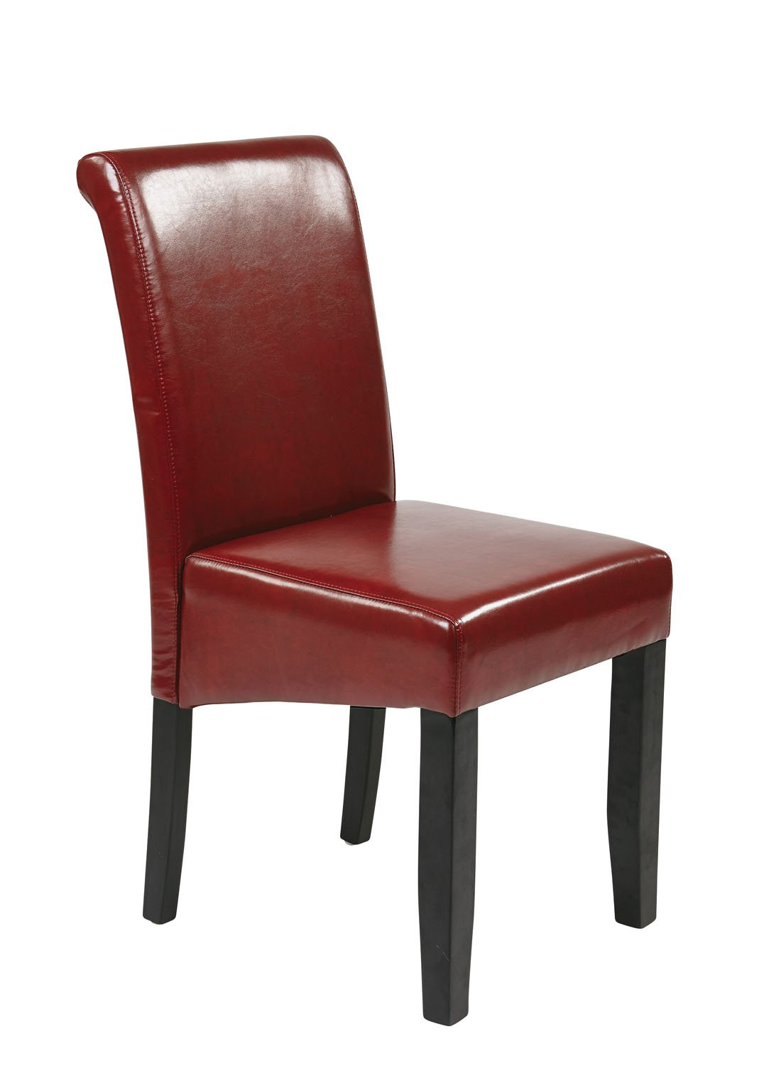 Burgundy Leather Dining Chairs Chair Pads Amp Cushions