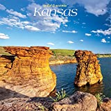 Kansas Wild & Scenic 2022 12 x 12 Inch Monthly Square Wall Calendar, USA United States of America Midwest State Nature