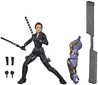 Hasbro Marvel Classic F0446 Legends Series Avengers 6-inch Collectible Action Figure Toy Black Widow, Premium Design and 6...