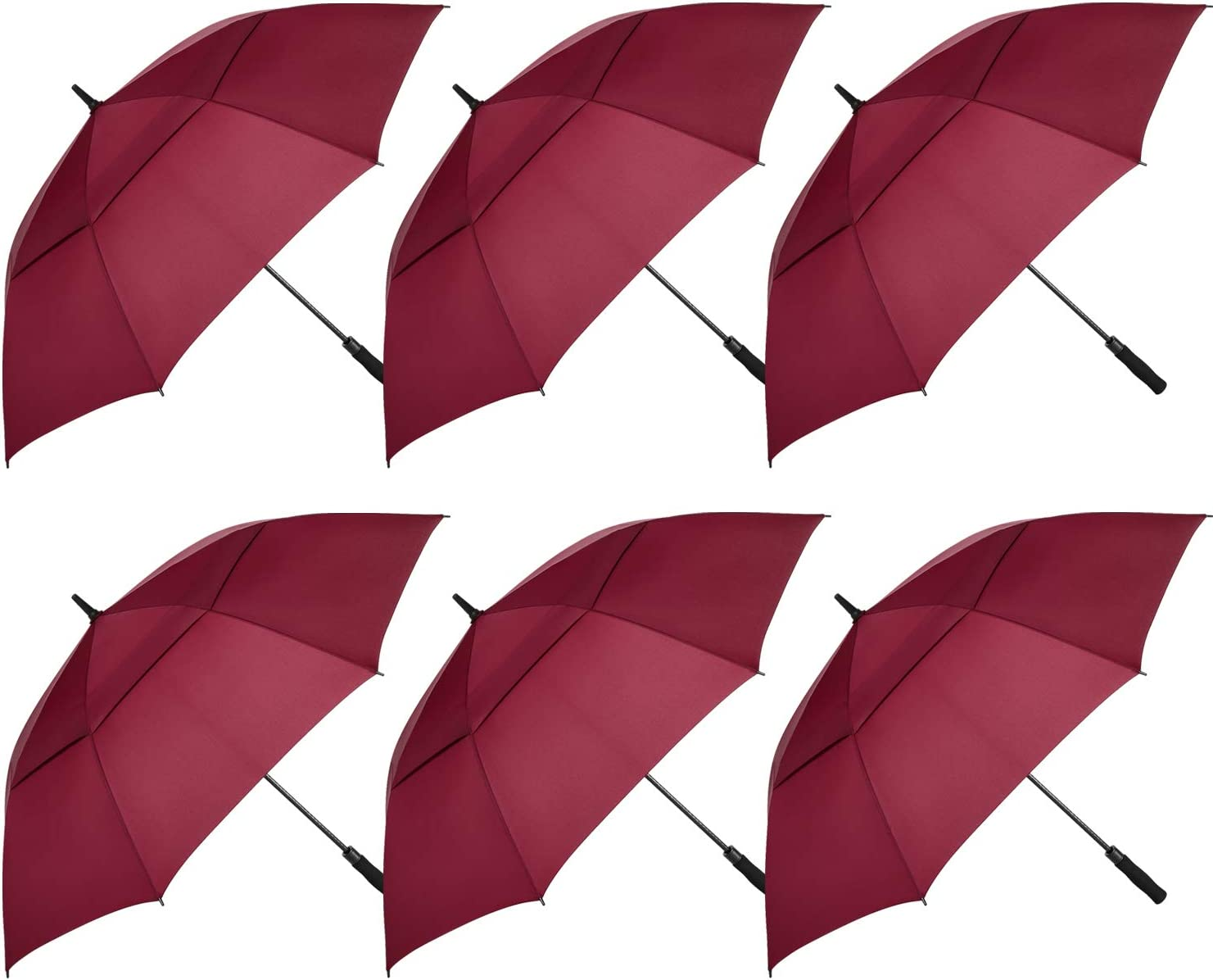 MRTLLOA 6 Pack Golf Umbrella 68 Oversize Limited price Inch Ca 62 Very popular Double Large