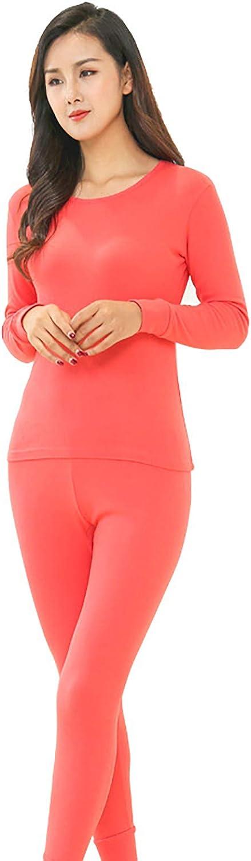 MEIFXIH Couple Soft Cotton Winter Warm Thermal Underwear Long Johns Sets