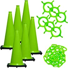 Best green safety cones Reviews