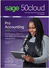 Sage Software Sage 50cloud Pro Accounting 2020 U.S. One Year Subscription