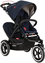 phil&teds Sport Stroller with Doubles Kit, Midnight
