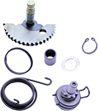 FLYPIG Engine Start Gear Kick Start Idler Gear Shaft Spring for GY6 50 139QMB 50cc Scooter Moped