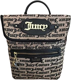 Juicy Couture Bold Move Gothic Backpack Beige/Black