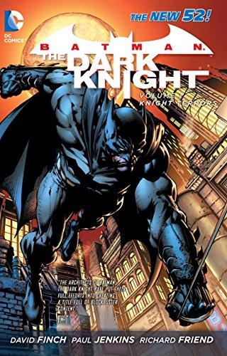 Batman The Dark Knight Volume 1: Knight Terrors TP (The New 52) by David Finch (Artist, Author), Paul Jenkins (Artist) › Visit Amazon's Paul Jenkins Page search results for this author Paul Jenkins (Artist) (1-Aug-2013) Paperback