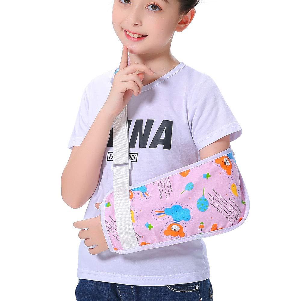 Kids Arm Sling mart for Girls Fashion Pretty Pink Bear Popular Shoulder